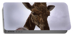 Feeding The Giraffe Portable Battery Charger