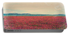 Fields Of Heaven Portable Battery Charger by Leanna Lomanski