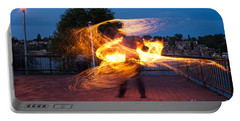 Fiery Dancer Portable Battery Charger