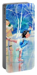 Figure Skater 15 Portable Battery Charger
