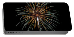 Portable Battery Charger featuring the photograph Fireworks 10 by Mark Dodd