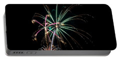 Portable Battery Charger featuring the photograph Fireworks 11 by Mark Dodd