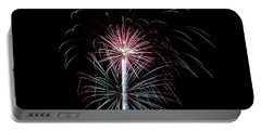 Portable Battery Charger featuring the photograph Fireworks 13 by Mark Dodd