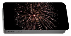 Portable Battery Charger featuring the photograph Fireworks 3 by Mark Dodd
