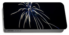 Portable Battery Charger featuring the photograph Fireworks 4 by Mark Dodd