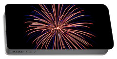 Portable Battery Charger featuring the photograph Fireworks 7 by Mark Dodd