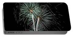 Portable Battery Charger featuring the photograph Fireworks 8 by Mark Dodd