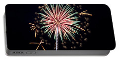 Portable Battery Charger featuring the photograph Fireworks 9 by Mark Dodd