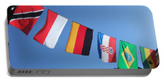 Flags Of Different Countries Portable Battery Charger