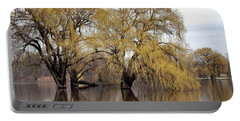 Flooded Trees Portable Battery Charger