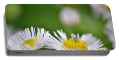 Portable Battery Charger featuring the photograph Floral Launch-pad by JD Grimes