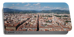 Florence From The Duomo Portable Battery Charger by Dany Lison