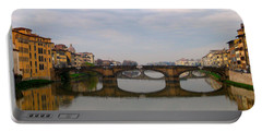 Florence Italy Bridge Portable Battery Charger