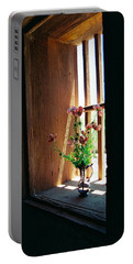 Flower In Window Portable Battery Charger