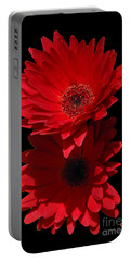 Portable Battery Charger featuring the photograph Flowers From My Son by Cindy Manero