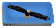 Flying Bald Eagle Portable Battery Charger
