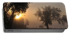 Foggy Morn Street Portable Battery Charger