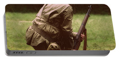 Portable Battery Charger featuring the photograph For Freedom by Lydia Holly