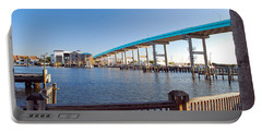 Fort Myers Bridge Portable Battery Charger
