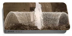 Fountain In Town Portable Battery Charger
