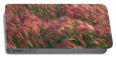 Portable Battery Charger featuring the photograph Foxtail Barley by Doug Herr