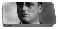 Portable Battery Charger featuring the photograph Franklin Delano Roosevelt by International  Images