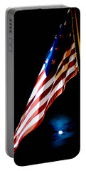 Flag On Federal Hill Portable Battery Charger