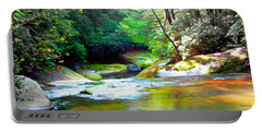 French Broad River Filtered Portable Battery Charger