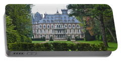 French Country Mansion Portable Battery Charger
