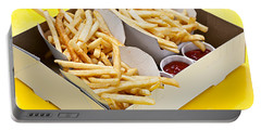 French Fries In Box Portable Battery Charger