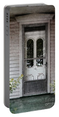 Front Door Of Vintage House Portable Battery Charger