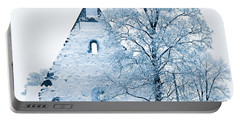 Frosty Ruins Portable Battery Charger
