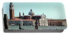 Gandola Rides In Venice Portable Battery Charger