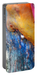 Portable Battery Charger featuring the digital art Ganesh by Richard Laeton