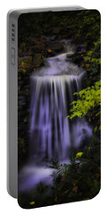 Garden Falls Portable Battery Charger by Lynne Jenkins