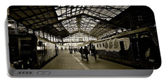 Portable Battery Charger featuring the photograph Gare De Saint Lazare by Eric Tressler