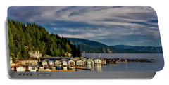 Portable Battery Charger featuring the photograph Garfield Bay by Albert Seger