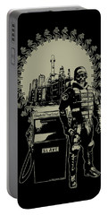 Gas Riot  Portable Battery Charger by Tony Koehl