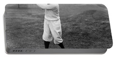 Portable Battery Charger featuring the photograph Gene Sarazen - Professional Golfer by International  Images