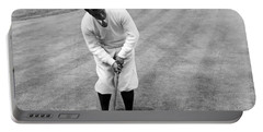 Portable Battery Charger featuring the photograph Gene Sarazen Playing Golf by International  Images