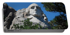 George Washington Face  Portable Battery Charger by Dany Lison