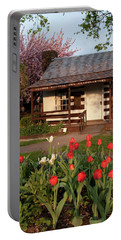 Portable Battery Charger featuring the photograph George Washington's House by Jeannette Hunt