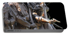 Portable Battery Charger featuring the photograph Gettysburg Monument by Cindy Manero