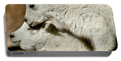 Goat Babies Portable Battery Charger by Colleen Coccia