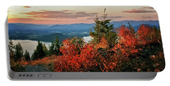 Portable Battery Charger featuring the photograph Gold Hill Sunset by Albert Seger