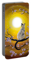 Golden Afternoon Sakura Portable Battery Charger