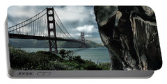 Portable Battery Charger featuring the photograph Golden Gate Bridge - 4 by Mark Madere