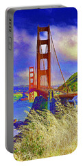 Portable Battery Charger featuring the photograph Golden Gate Bridge - 6 by Mark Madere