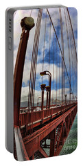 Portable Battery Charger featuring the photograph Golden Gate Bridge - 7 by Mark Madere