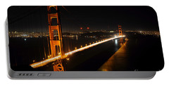 Portable Battery Charger featuring the photograph Golden Gate Bridge 2 by Vivian Christopher